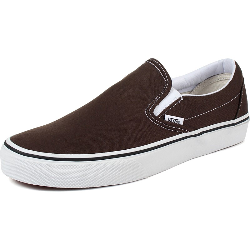 81c2870d Vans - Unisex Adult Classic Slip-On Shoes In Espresso
