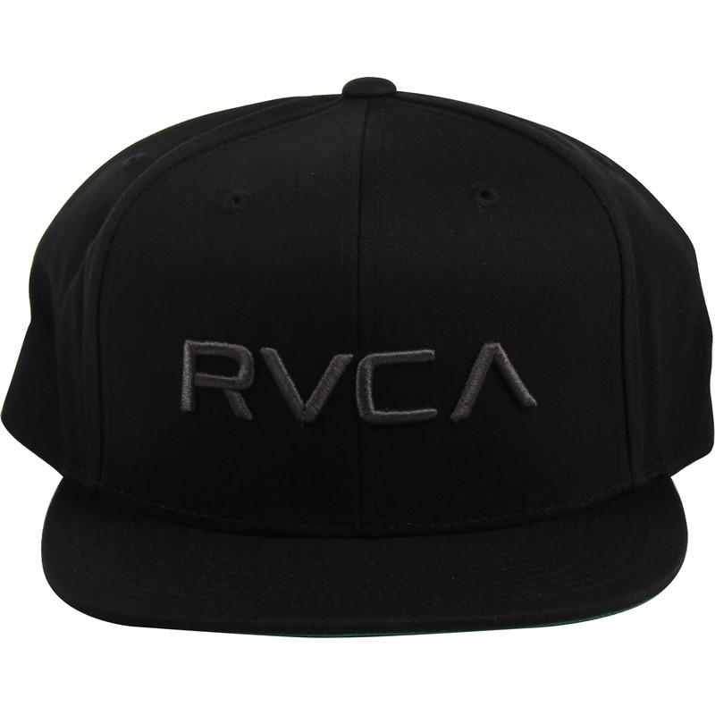 RVCA - Mens RVCA Twill Snapback Hat bf304e3350cf