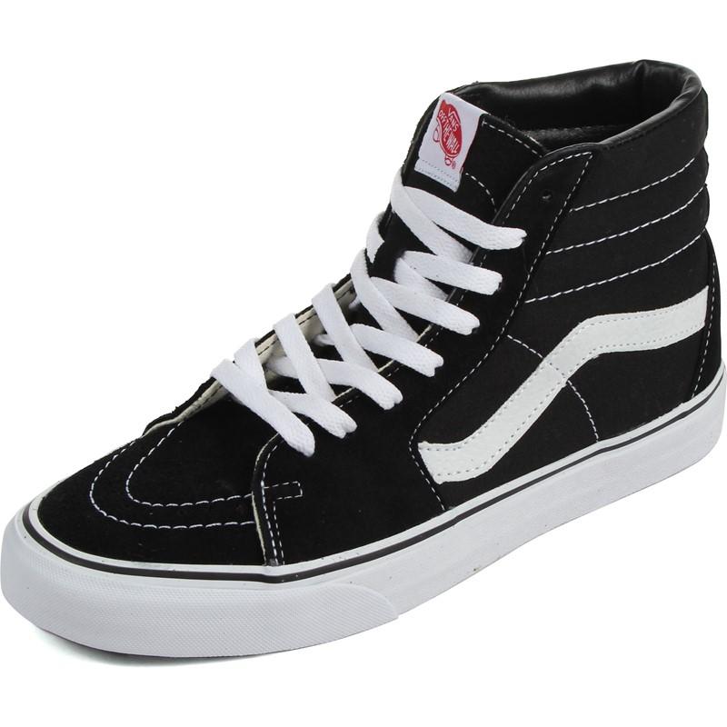 7d135f59 Vans - U Sk8-Hi Shoes In Black/Black/White