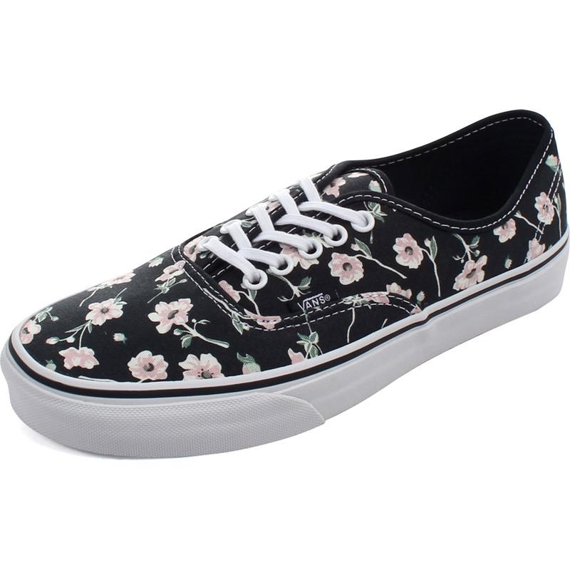 8b39b0790e Vans. Vans - Womens Vintage Floral Authentic Shoes
