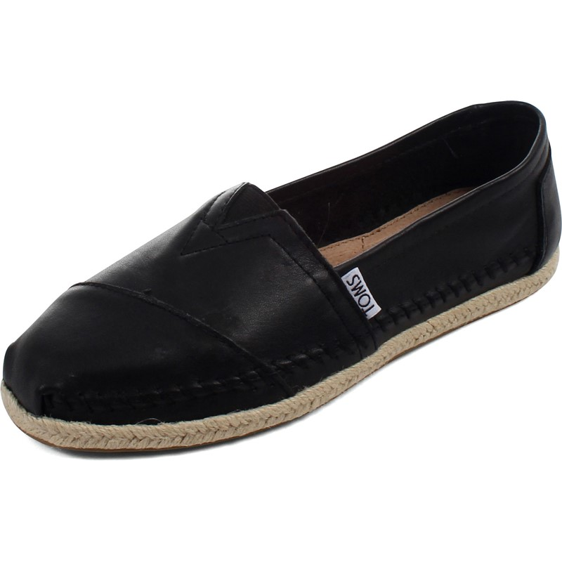 6fdd8c4c35 Toms. Toms - Womens Leather Classic Slip-On Shoes