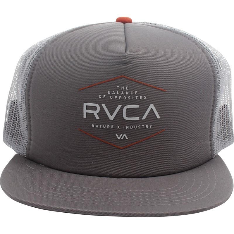 09348473b87 ... low cost rvca mens industrial trucker hat 6bb74 64bda