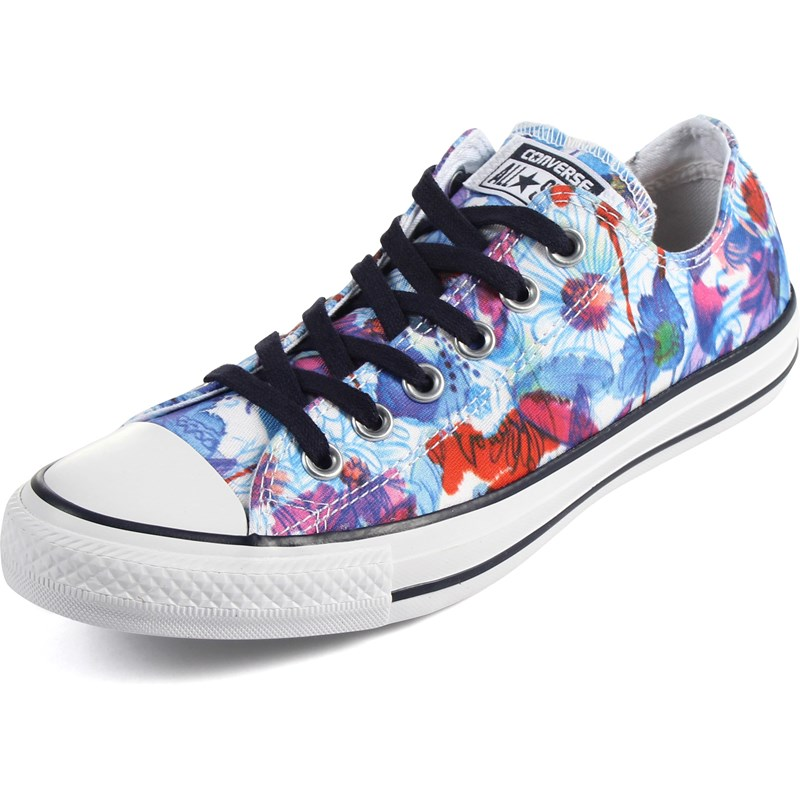 37b81deeb3e12f Converse - Womens Chuck Taylor All Star Daisy Print Shoes