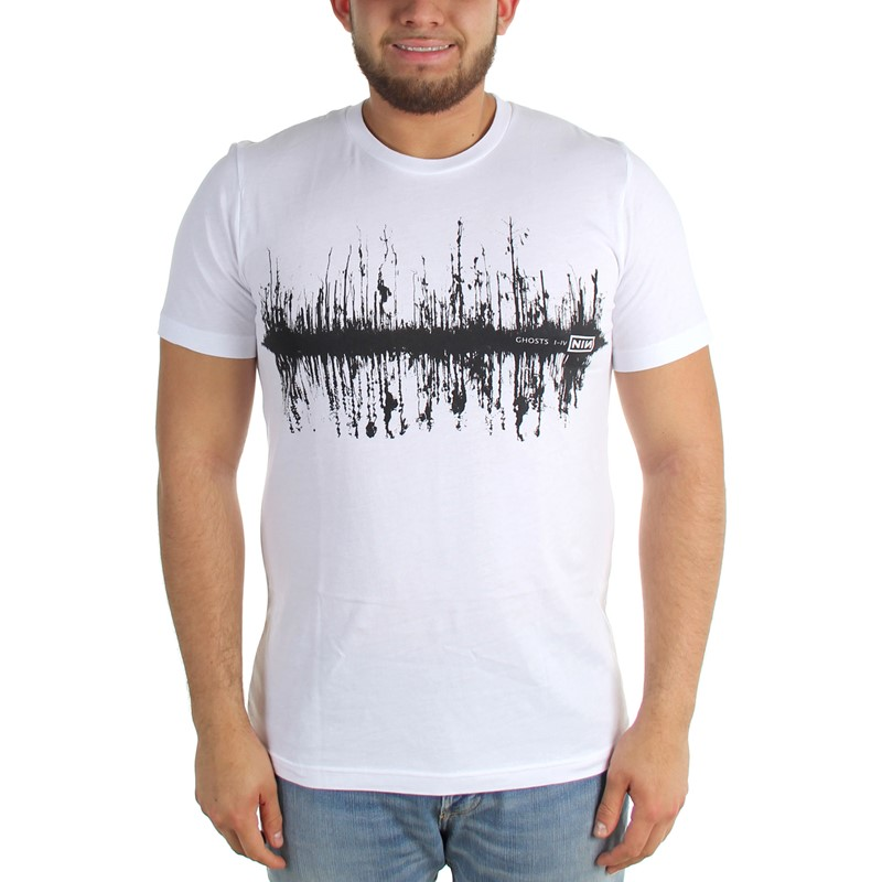 224304b8534c3 Nine Inch Nails - Mens Ghost Trees Fitted T-Shirt