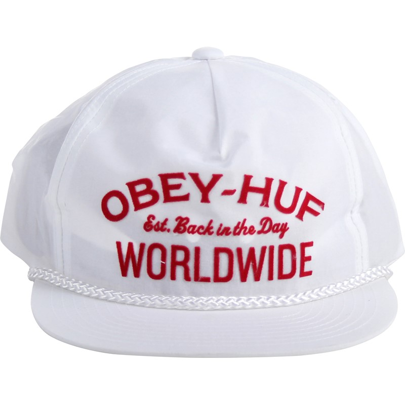 HUF. HUF x OBEY - Mens Nylon Snapback Hat e5d7bd5c7381