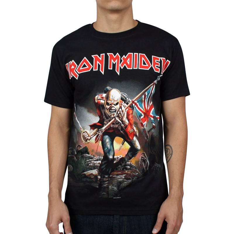 82fd68ae1 Iron Maiden. Iron Maiden - The Trooper Mens T-shirt ...