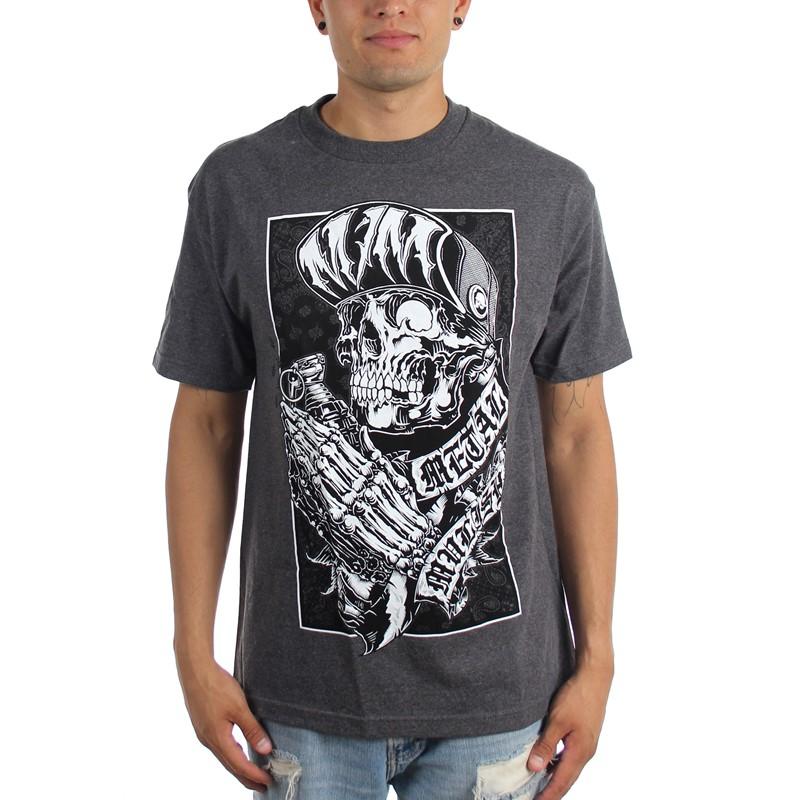 Metal Mulisha Men/'s Greater Than Short Sleeve T Shirt White Clothing T-Shirts