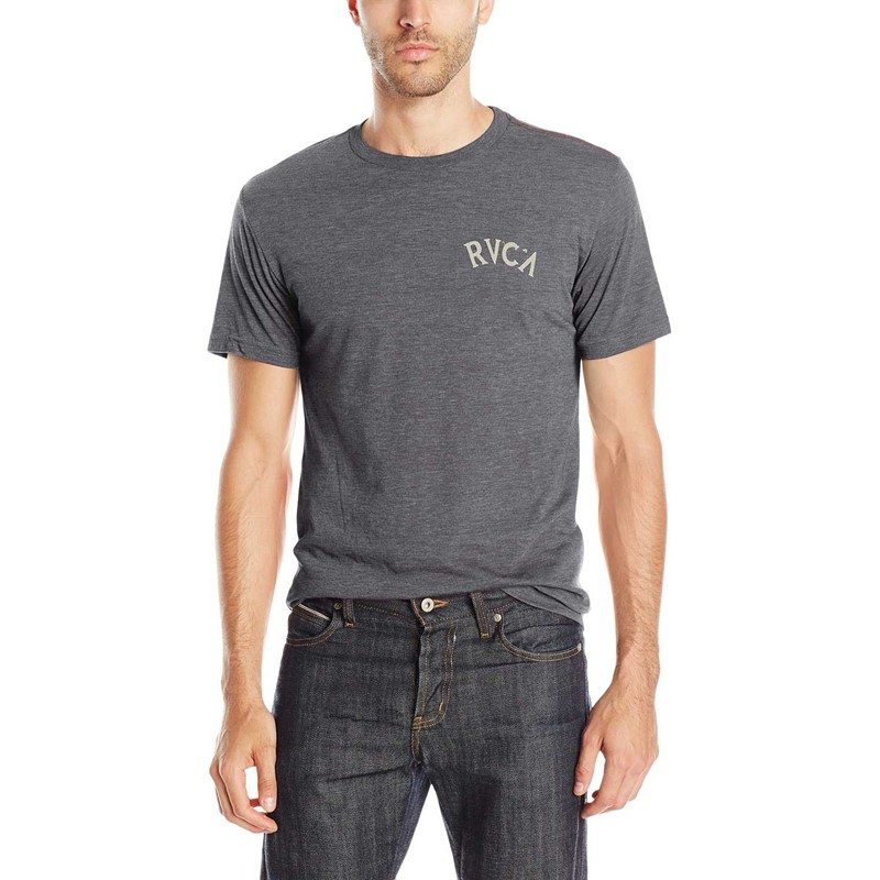 Rvca Mens Free And Wild T Shirt