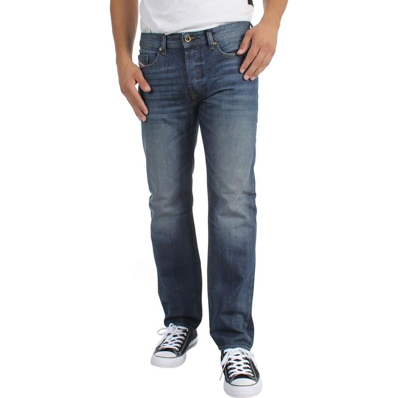 diesel mens buster tapered jeans wash 0857h. Black Bedroom Furniture Sets. Home Design Ideas