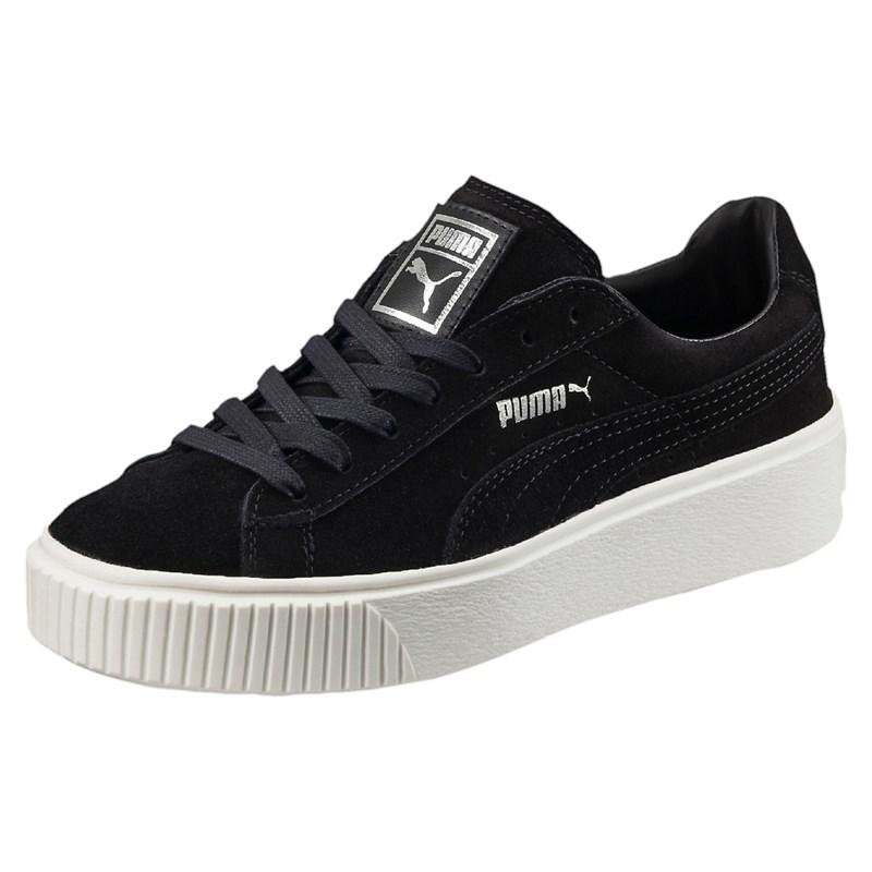 bcc220b836 Puma - Womens Suede Platform Shoes