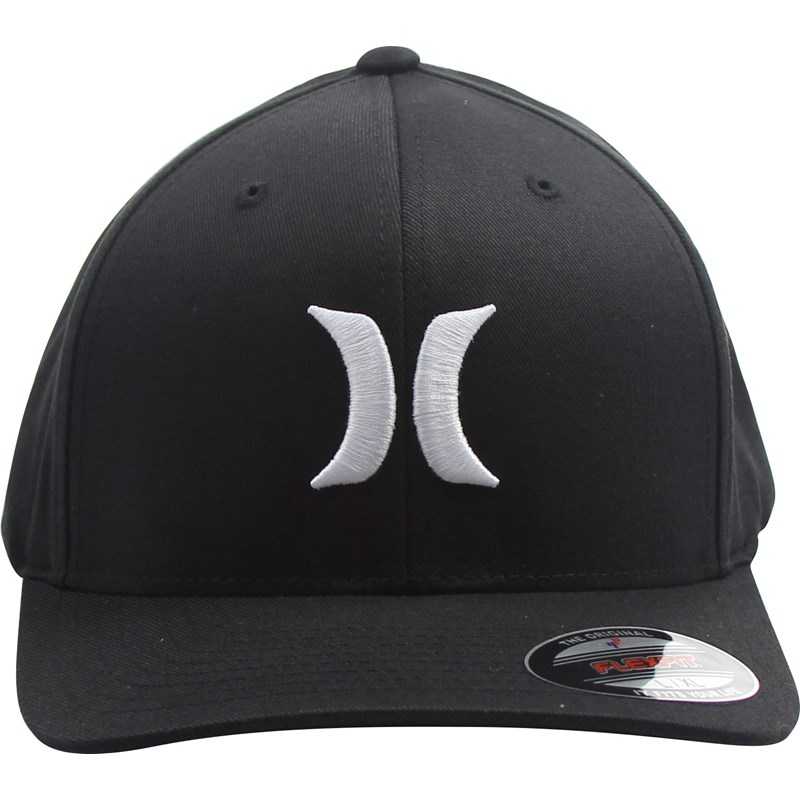716312f00 Hurley - Mens One & Only Bw Flex Fit Hat