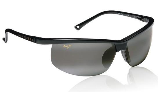 bb761997f96f Maui Jim - Sunset Gloss Black/Neutral Grey Sunglasses in Nylon (MJ-402-02)