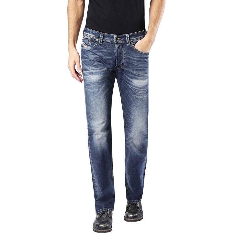 c903ba51 Diesel. Diesel - Mens Larkee Straight Leg Jeans, Wash Code: 0853R