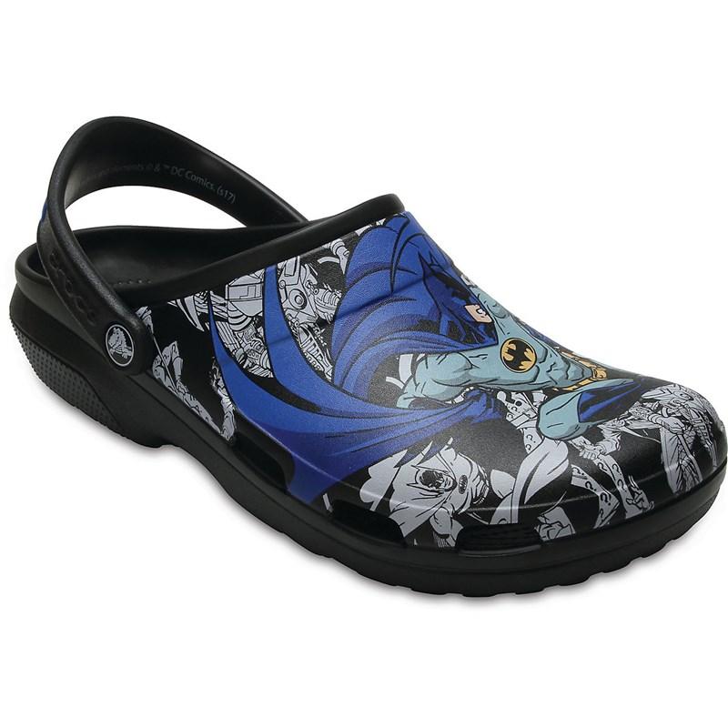 3f76111a7 Crocs - Unisex-Adult Classic Batman Clog Shoes