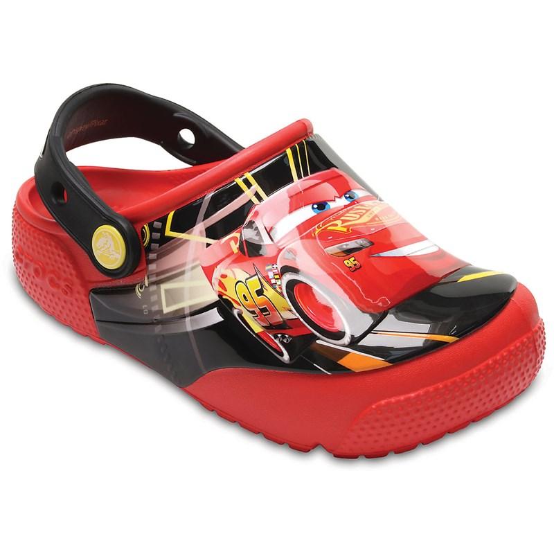 Fun Lab Lights Cars 3 Clog Shoes