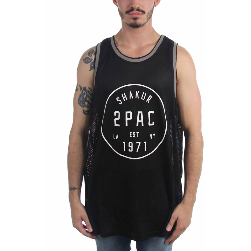 575a1c9f75a Tupac. Tupac - Mens Old School Basketball Basketball Jersey