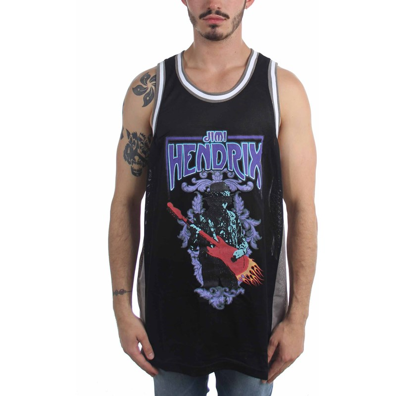 69027909a13 Jimi Hendrix - Mens Basketball Basketball Jersey