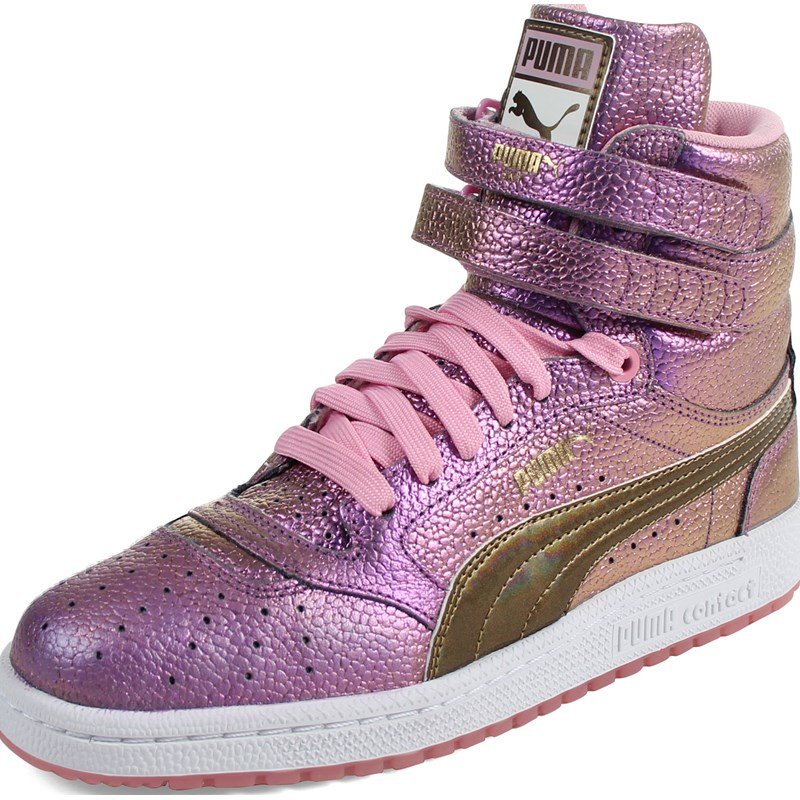 573503a0bcb7 Puma - Womens Sky Ii Hi Reset Hightop Sneakers