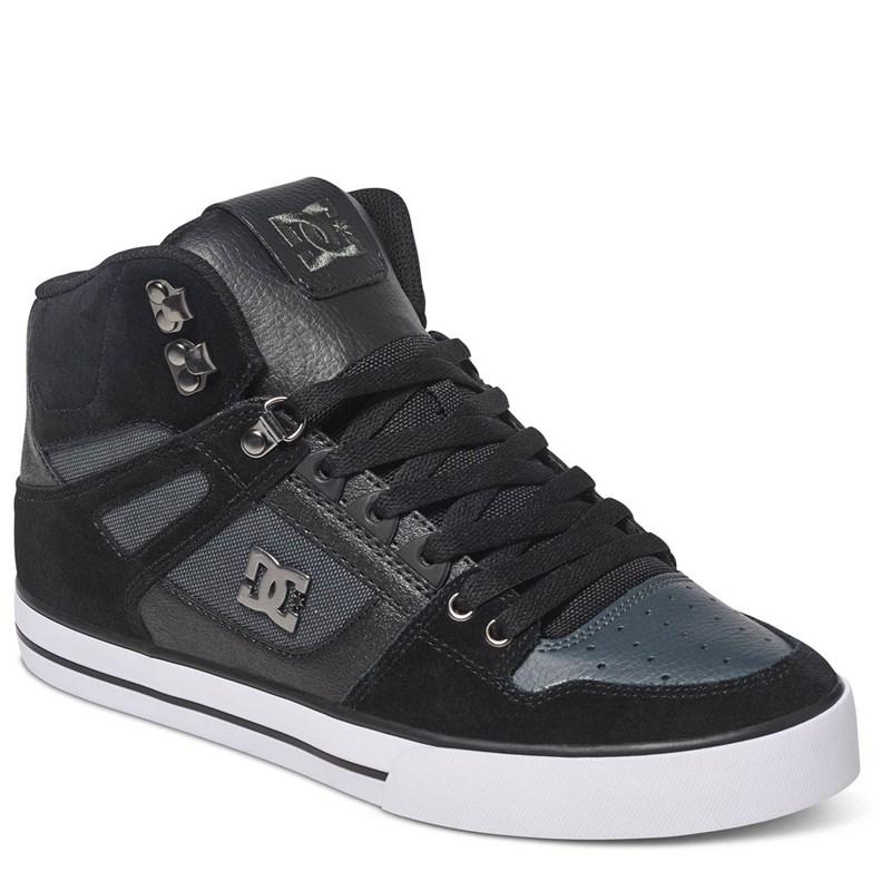 0fc24abc7368 DC. DC- Young Mens Spartan High Wc Se Hi Top Shoes