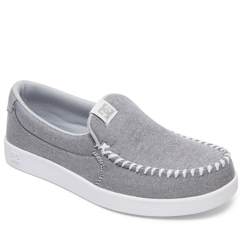 Dc - Womens Villain Tx Se Slip On Shoe