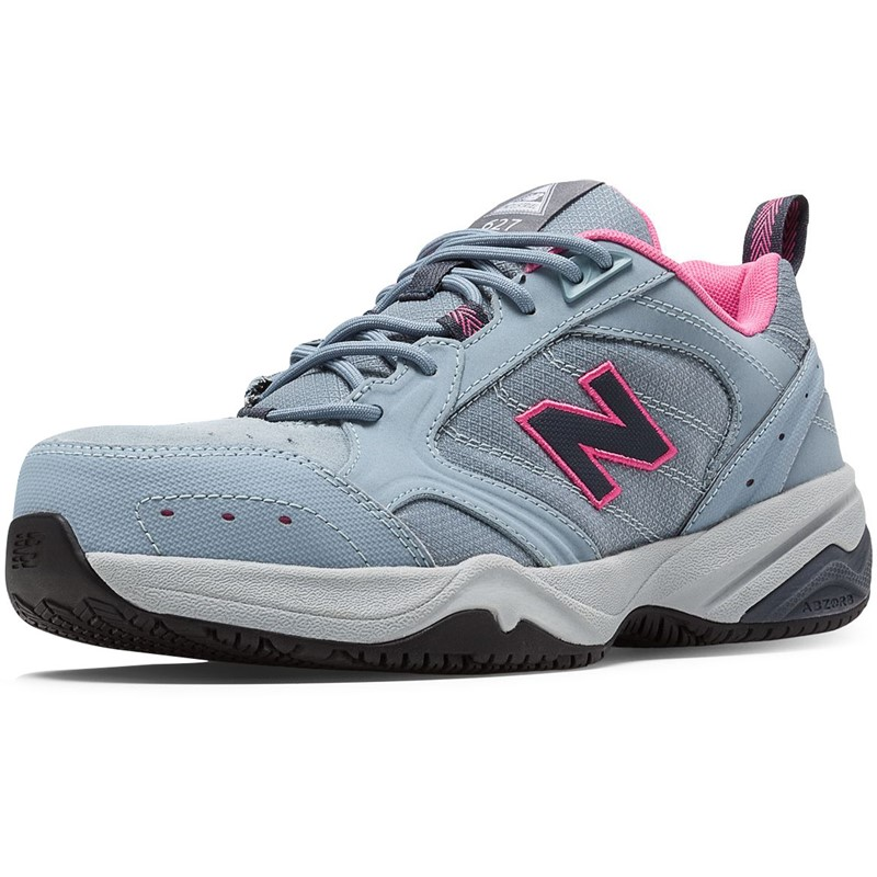 350f4eb91861c New Balance - Womens Steel Toe 627 Suede Shoes