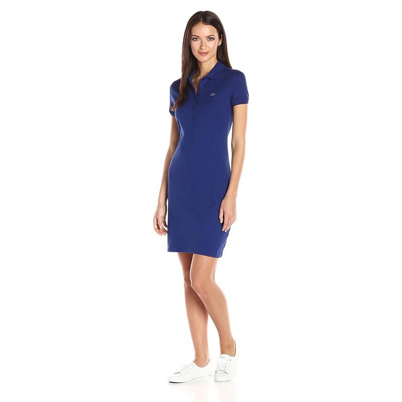 c3a89696e Lacoste. Lacoste - Womens Ef8078 Short Sleeve Pique Polo Dress