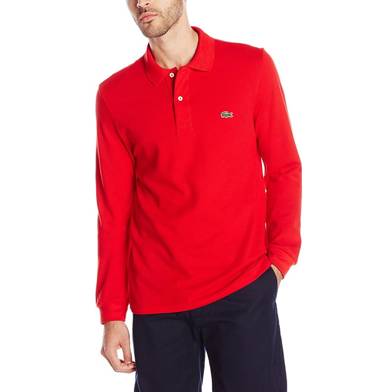 8fa2170b7 Lacoste. Lacoste - Mens L1312 Long Sleeve Classic Pique Polo Shirt