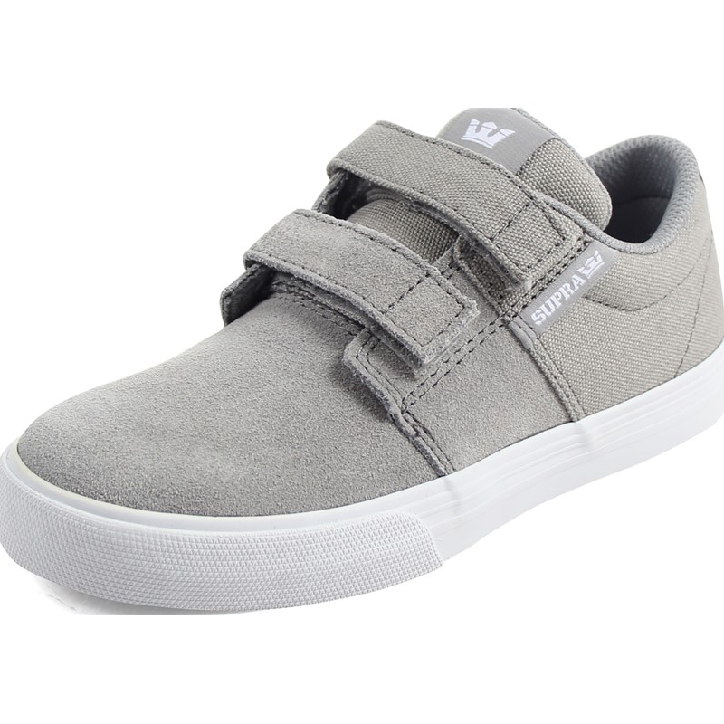 c26399b34f Supra. Supra - Unisex Child Stacks Ii Vulcanized Velcro Shoes