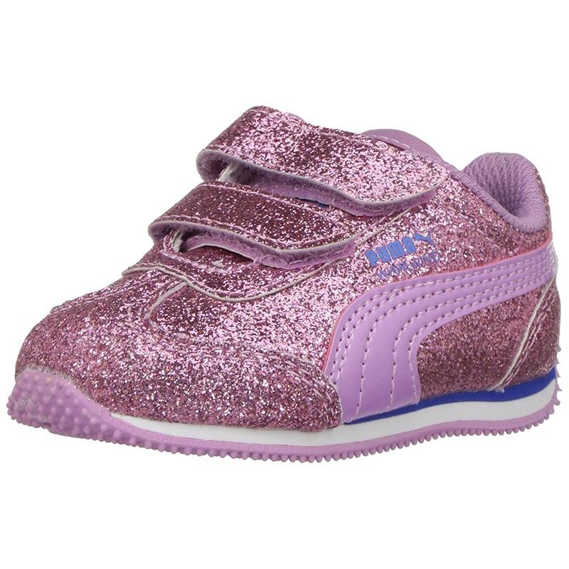 Puma. PUMA Unisex-Kids Whirlwind Glitz V Shoes cbb814acc