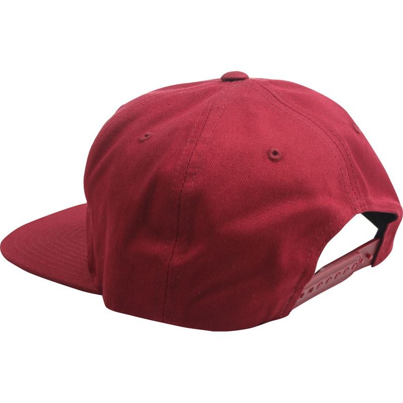 fcfb7b06d00 Brixton - Unisex-Adult Potrero Snapback Hat - Burgundy 888588216408 ...