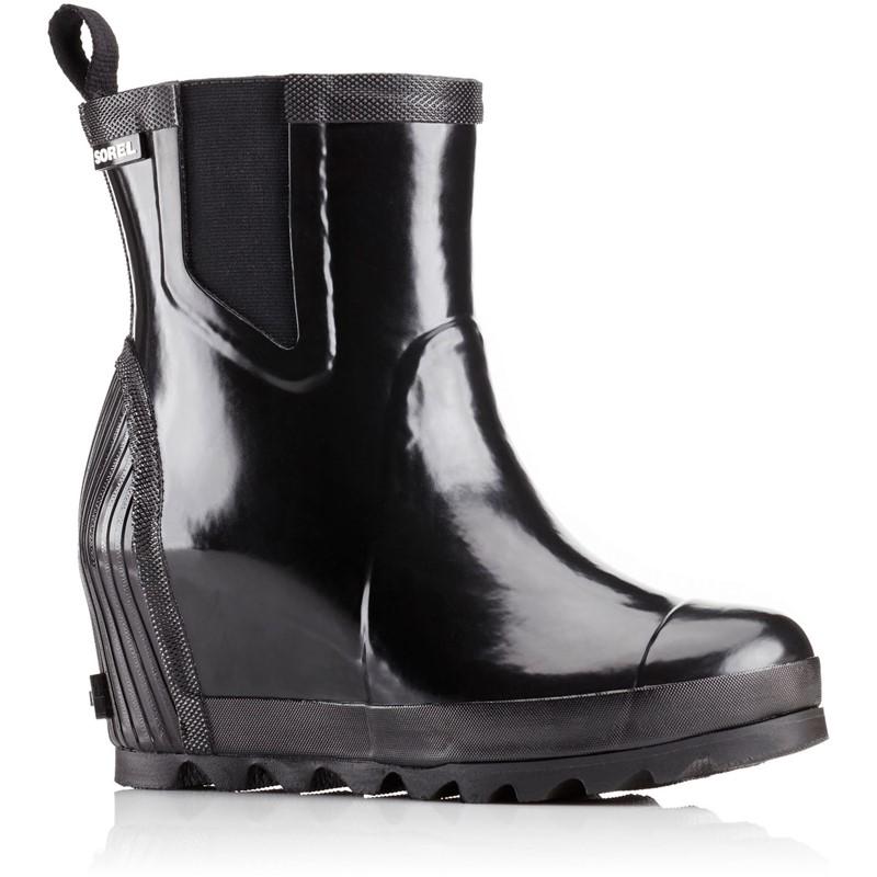 ff111c36a6b Sorel. Sorel - Women s Joan Rain Wedge Chelsea Gloss Rain Boot