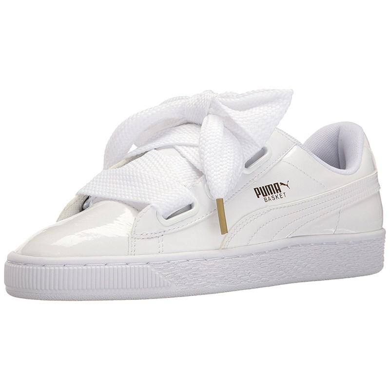 d754714d2dab Puma - Womens Basket Heart Patent Shoes