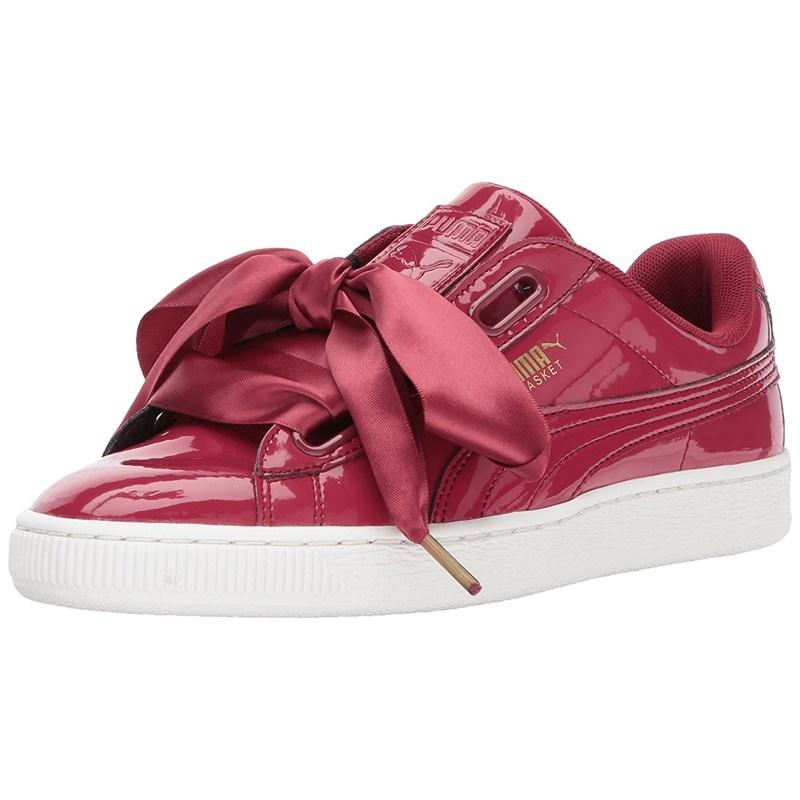 premium selection ab21e f78f7 Puma - Womens Basket Heart Patent Shoes