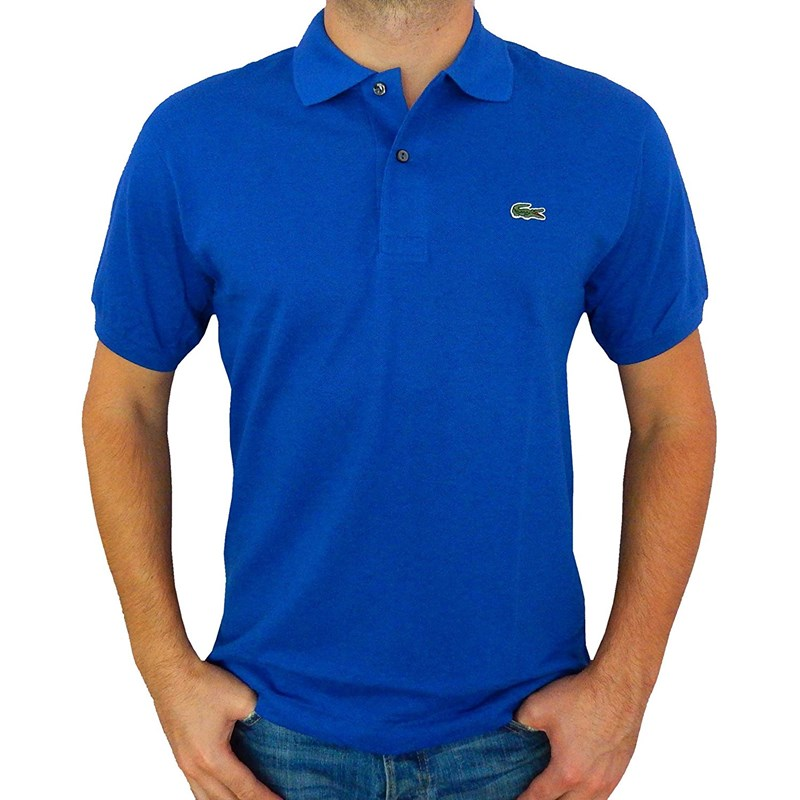 9b239305e Lacoste Men's Short Sleeve Pique L.12.12 Original Fit Polo Shirt