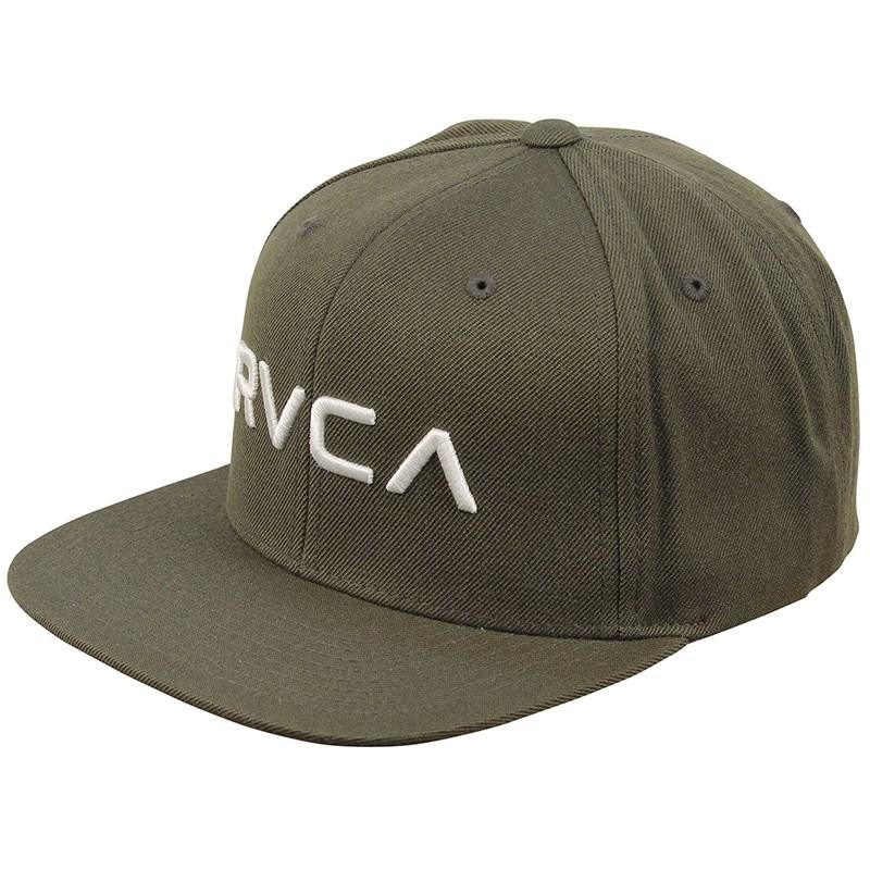 RVCA. RVCA - Mens Rvca Twill Snapback Hat b890b7da4a1