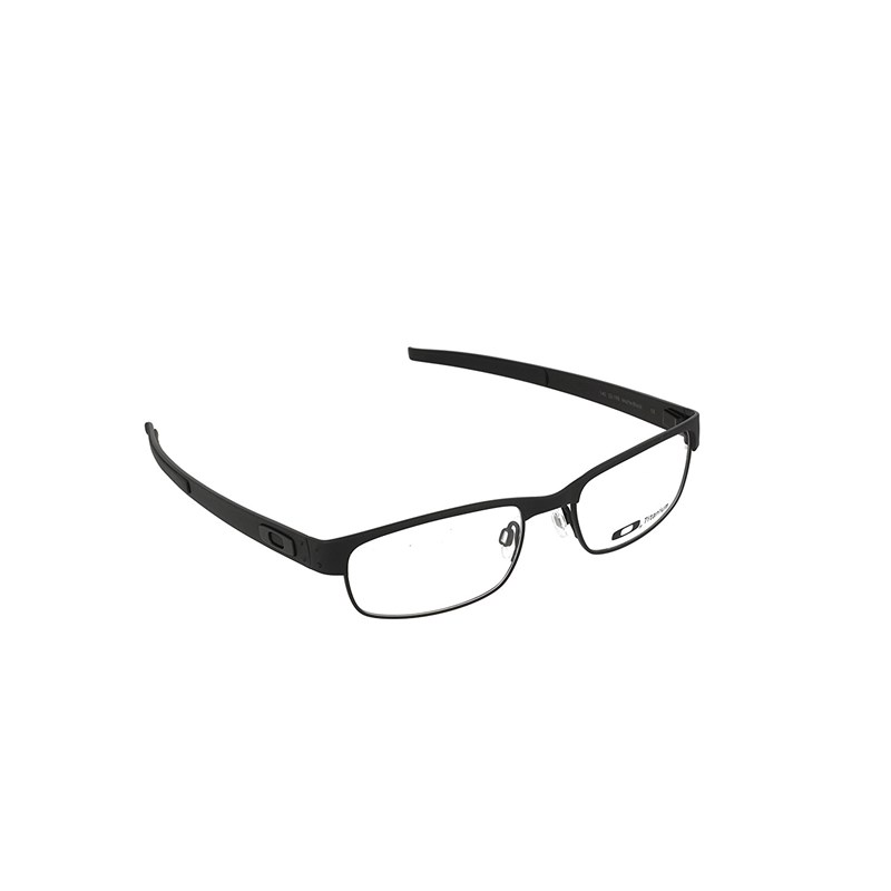 Oakley - Oph. Metal Plate (53) Matte Black Frame Sunglasses