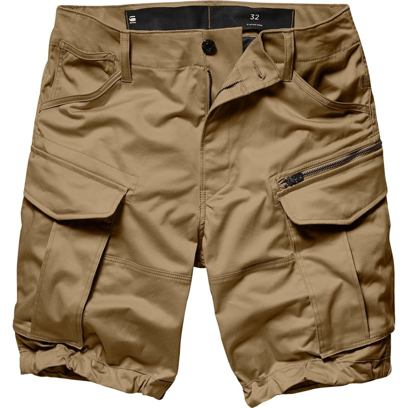 8922870c2b G-Star Raw. G-Star Raw - Mens Rovic zip loose 1/2 Cargo Shorts