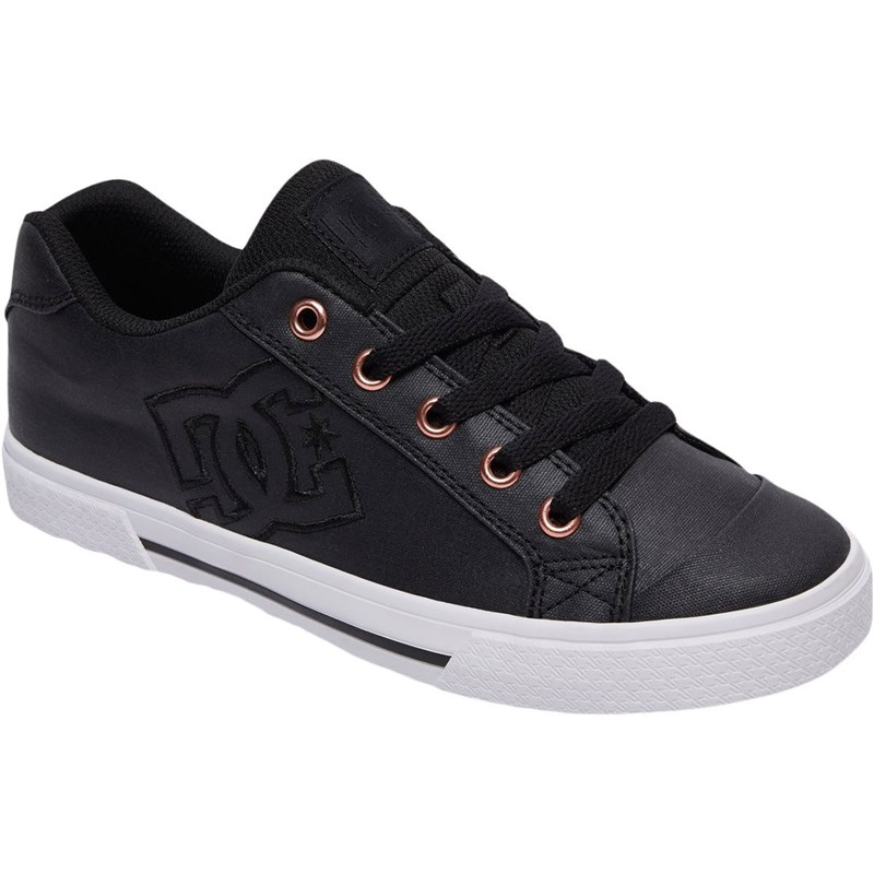 c1ae134892373 DC. DC- Young Womens Chelsea Tx Se Lowtop Shoes