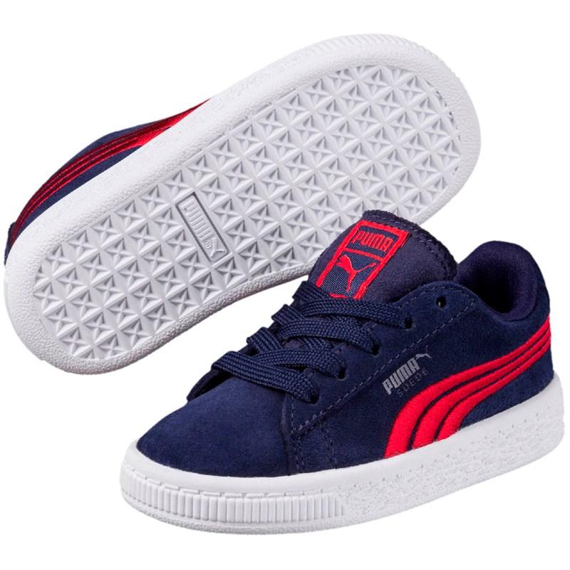 size 40 8479a a9f4c PUMA Kids  Suede Classic Badge Inf Sneaker