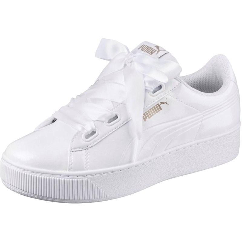 0e2fc4bece0 Puma. PUMA - Womens Vikky Platform Ribbon P Shoes