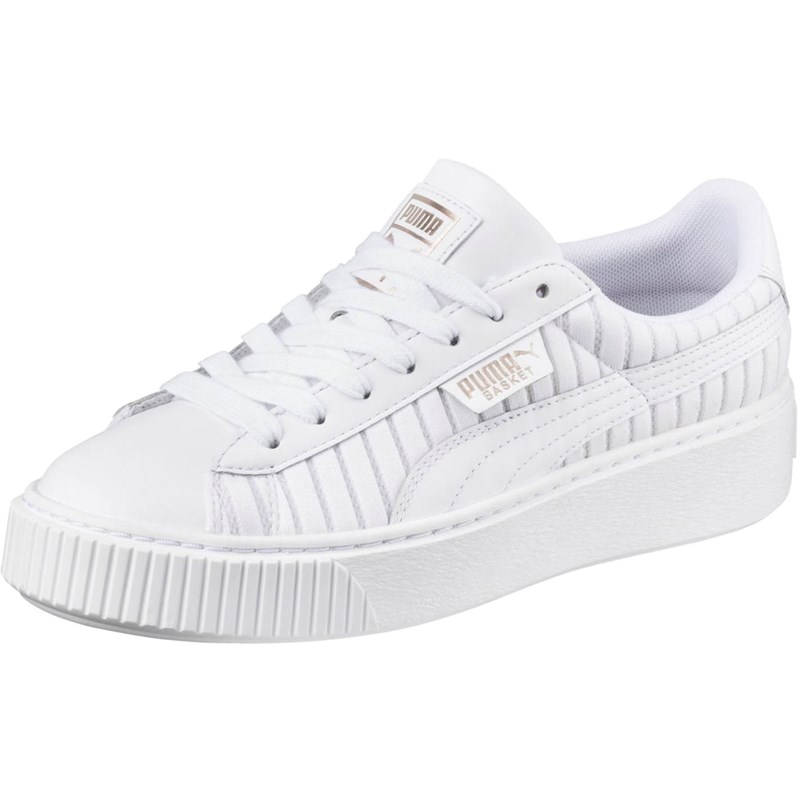 060153a5201 Puma. PUMA - Womens Basket Platform Ep Shoes
