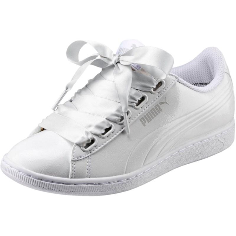 7fee9149175b54 Puma. PUMA - Womens Vikky Ribbon P Shoes