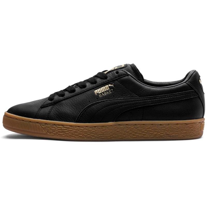 fca5751e0aab Puma. PUMA - Mens Basket Classic Gum Deluxe Shoes