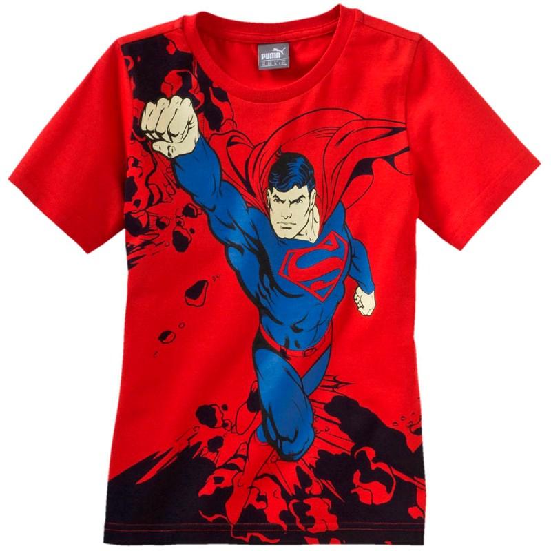 dfc71595 Puma. PUMA - Kids Fun Superman Tee B