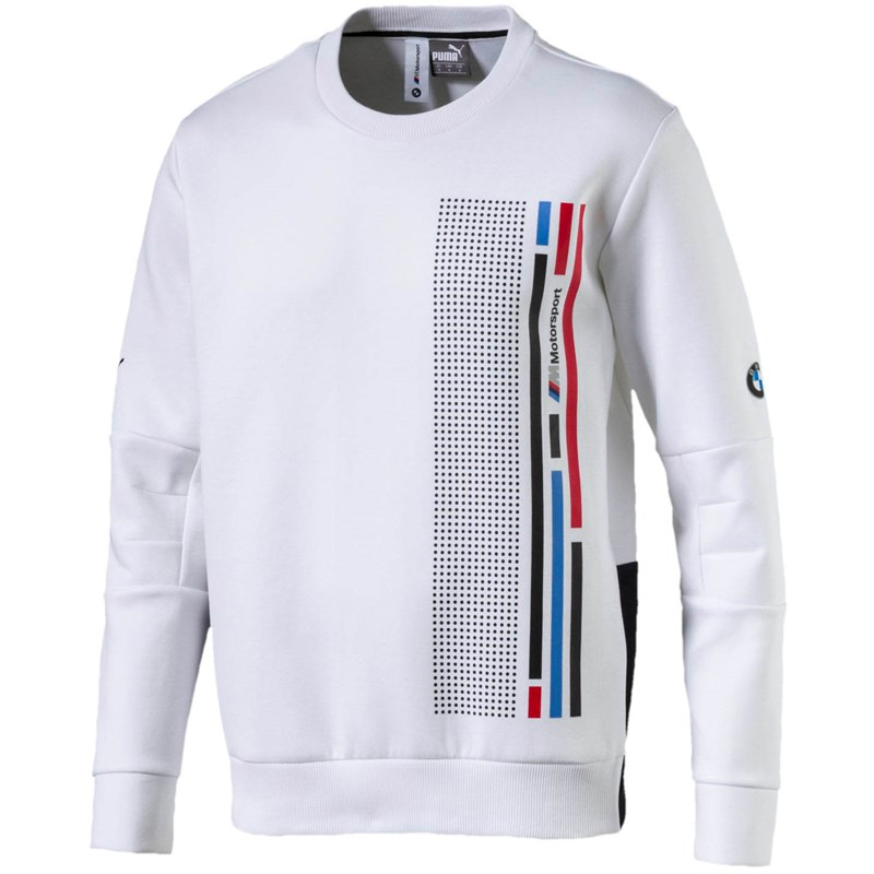 2cf8e6a8c496 PUMA - Mens Bmw Mms Graphic Crew Neck