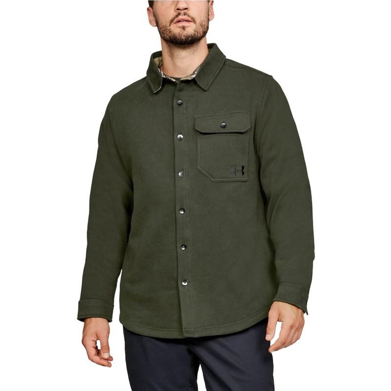 bda43e2830 Under Armour - Mens Buckshot Button Up Long-Sleeves T-Shirt