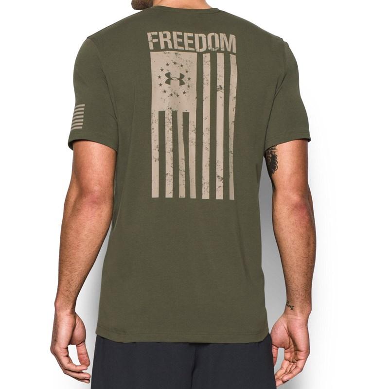 Under Armour - Mens Freedom Flag T-Shirt f4c4d1d75