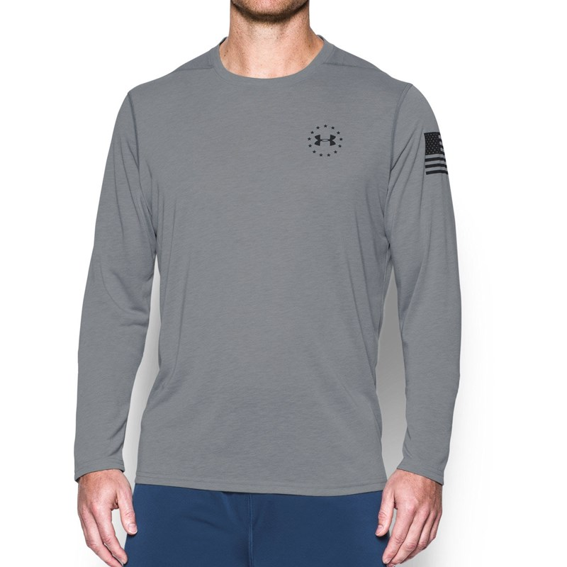 240cd49e Under Armour. Under Armour - Mens Freedom Siro LS Long-Sleeves ...