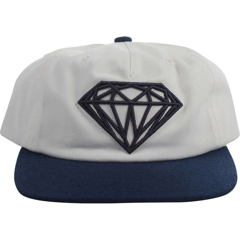 24cbb31ea Diamond Supply Co. - Mens Brilliant Two-Tone Unconstructed Snapback Hat