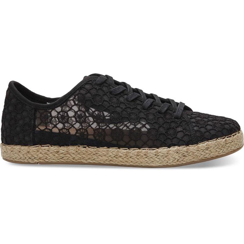 f43dbac3f Toms Women s Lena Crochet And Lace Sneaker
